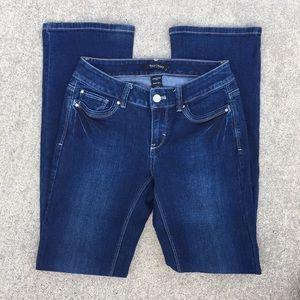 WHBM Contour Boot cut Jeans